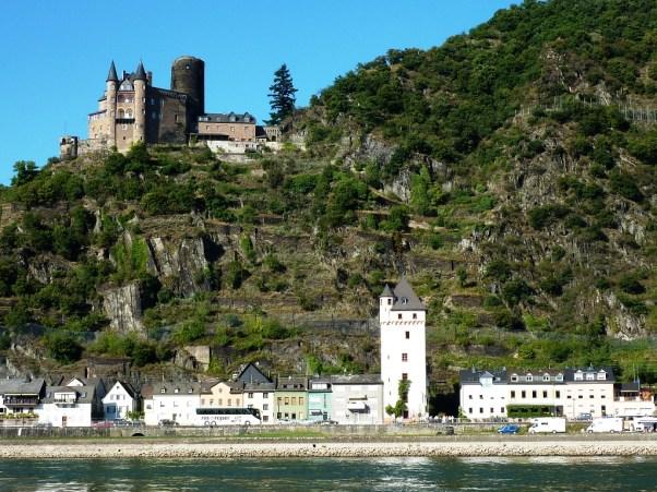 Sankt Goarshausen, Altstadt und Burg Katz
