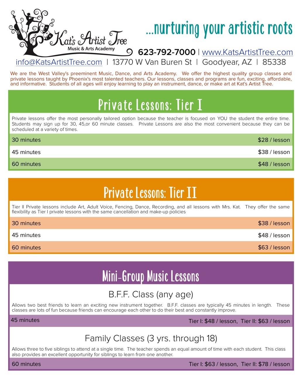 Class Schedule web pg3