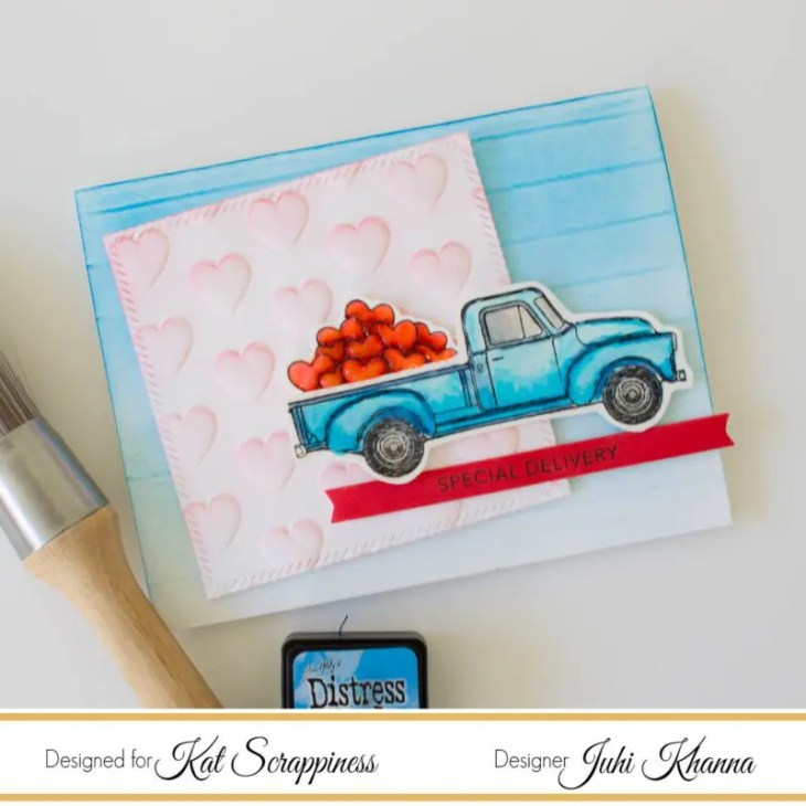 Honey Bee Stamps Little Pickup