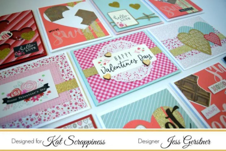 Card with Kat Scrappiness Chocolate Lover's Kit