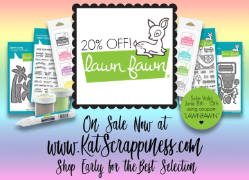 Lawn Fawn Sale and Coupon Code at Kat Scrappiness