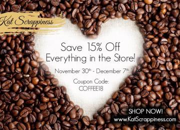 KAT SCRAPPINESS FALL/WINTER COFFEE LOVERS HOP