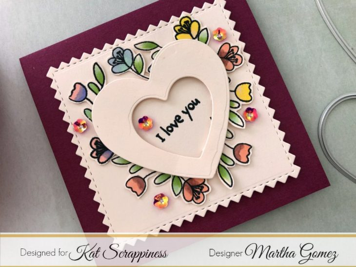 Layered Nested Hearts by Martha Lucia
