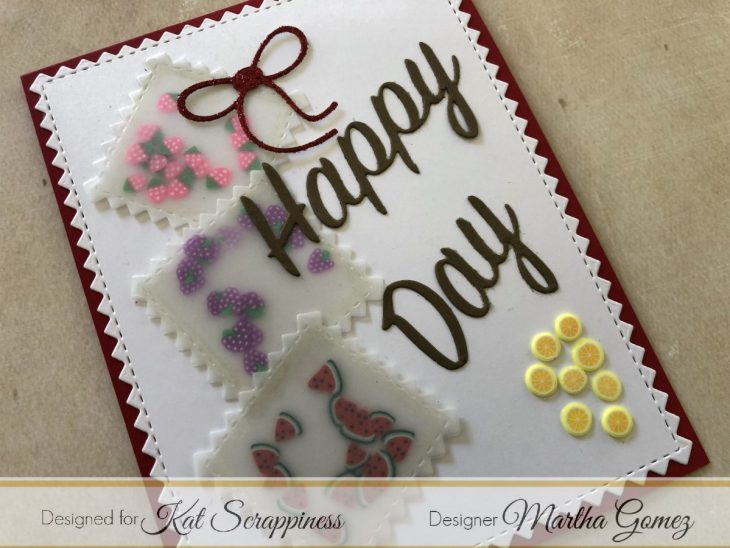 Sprinkles Bags Card