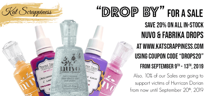 Liquid Drops On Sale!