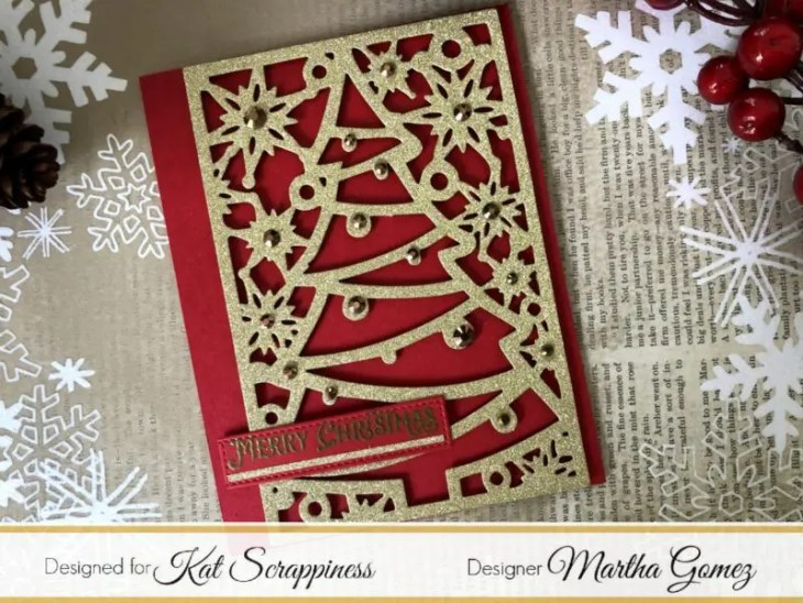 Christmas Cover Plates with Martha Lucia