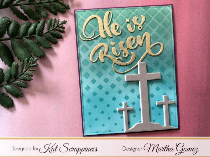 He is Risen Card by Martha Lucia