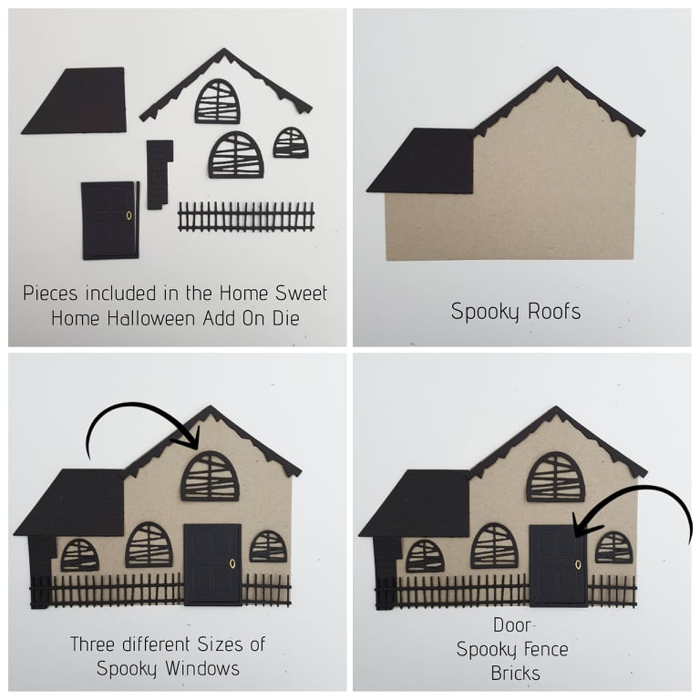 Haunted House Add On Dies
