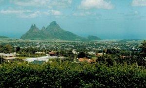 magical mountain view
