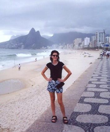 Rio de Janiero, Brazil - Iconic Ipanema Beach