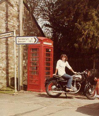 Motoring through Wales, UK