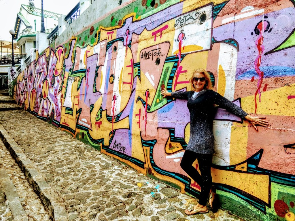 Valparaiso, Chile: Wall Mural