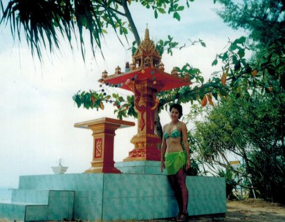 Islands shrine at Lanta
