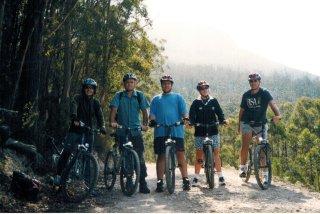 Taz Mt Well biking