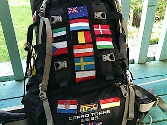 islands backpackers backpack