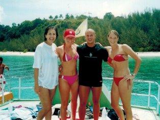 Islands snorkeling Bamboo Island