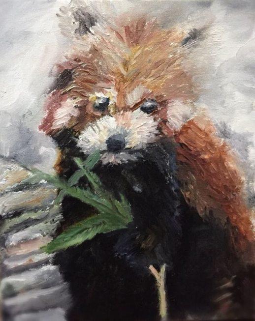 Sai Manish's Red Panda Submission for ArtistCommunity challenge