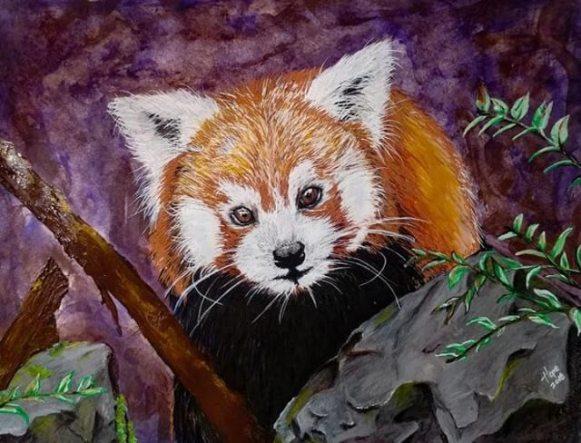 Hope's April Red Panda Challenge