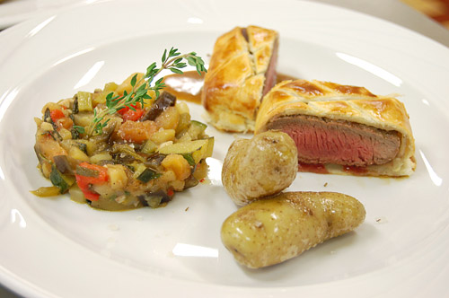 Filets d'agneau en croute