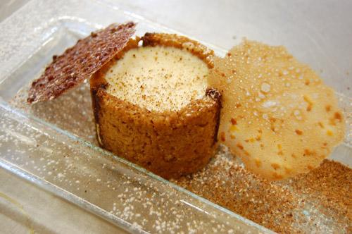 Bavarois au pain d'épices