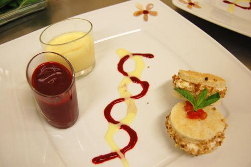 Dessert pour Roland