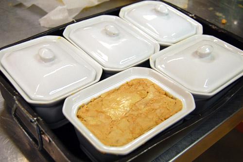 Foie gras en terrine avant cuisson