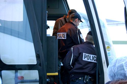 Rungis, contrôle de police