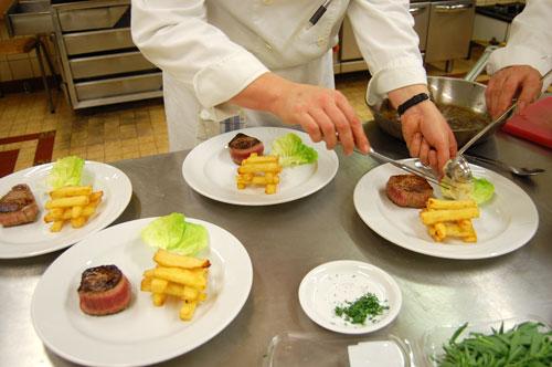 Tournedos sauce béarnaise