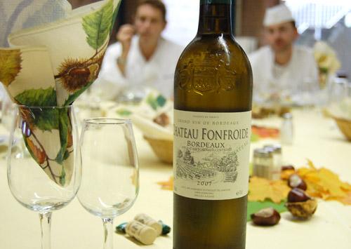 Vin Bordeaux Chateau Fonfroide