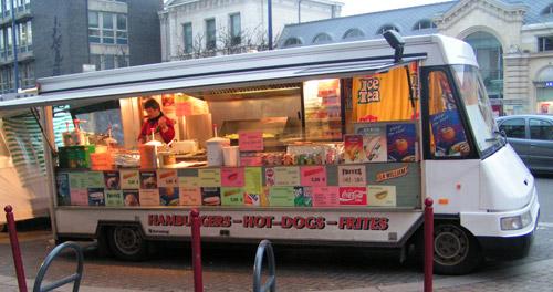 Fritkot à Namur