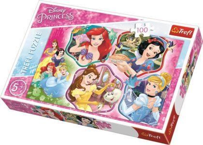 Trefl – Puzzle Παιδικό – 100 Pcs – Princesses Charm 16339