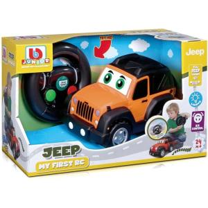 Burago – Τηλεκατευθυνόμενο – BB Junior Jeep My First Rc Jeep Wrangler 16-92002