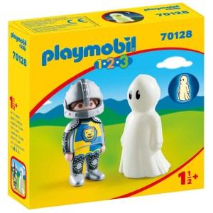 Playmobil 1.2.3 – Ιππότης με Φάντασμα 70128