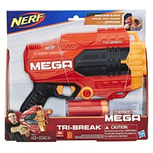 Hasbro Nerf – N-Strike Mega Tri-Break E0103