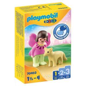 Playmobil 1.2.3 – Νεράιδα Με Αλεπού 70403