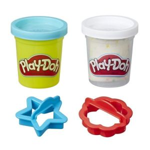 Hasbro Play-Doh – Cookie Canister Play Food Με 2 Χρώματα Sugar Cookie E5206