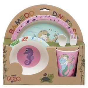 Polo – Σετ Φαγητού Bamboo, Mermaid 2020 9-15-056-16