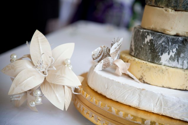 Cheese Wheel Wedding Cake