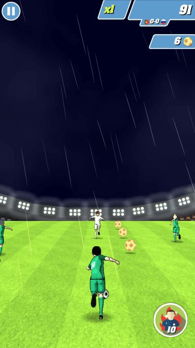 Captain Football Test iOS My Geek Actu 1