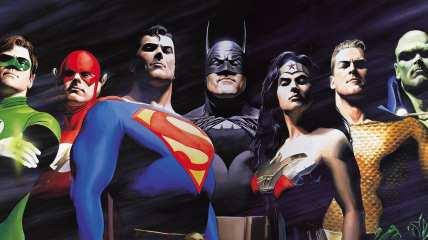 Justice League Review My Geek Actu Alex Ross