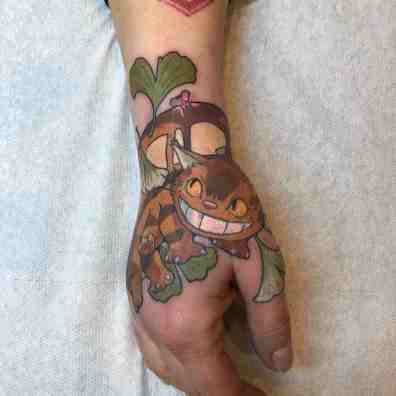 Loïck Mori Maison Kuma - Tattoo 13