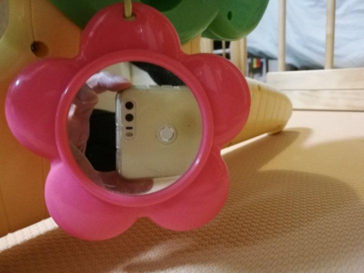 6wayジムにへんしんメリーの鏡を拡大した画像