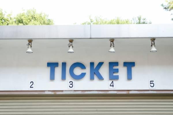 チケットの画像