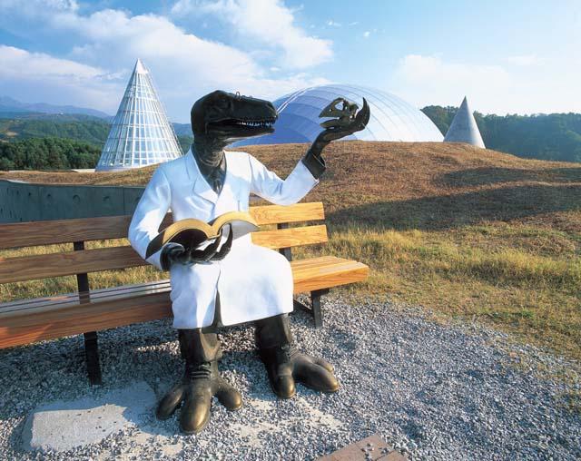 恐竜エリア