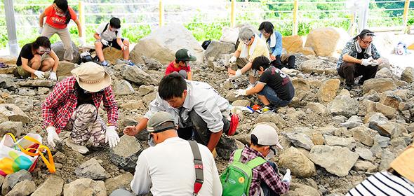 恐竜化石発掘体験紹介