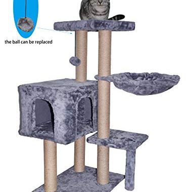 , WIKI 002G Cat Tree has Scratching Toy with a Ball.jpg?resize=374%2C380&ssl=1