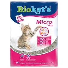 biokat's micro fresh kattenbakvulling kattengrit klonterend