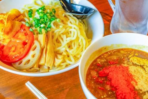 レッチリ激辛魚介つけ麺