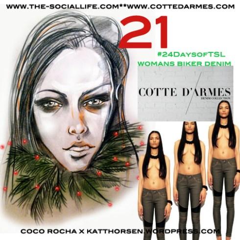 #24DaysOfTSL Dec 21 x Cotte D'Armes