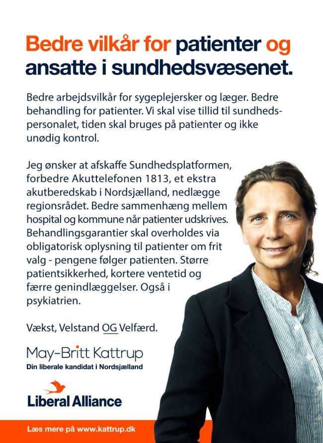 bedre vilkår for patienter og ansatte i sundhedsvæsnet